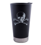 Skull and Crossbones Tumbler-16 oz