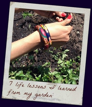 7 Life Lessons From my Garden