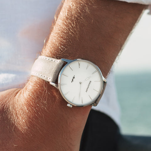 Men's Light Grey Strap