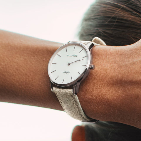 Women's Light Grey Strap