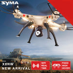 Drone with WiFi and HD Camera Real-time Sharing 6-Axis Quadcopter with Hovering Function