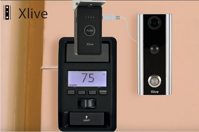 Xlive Video Garage Door Controller