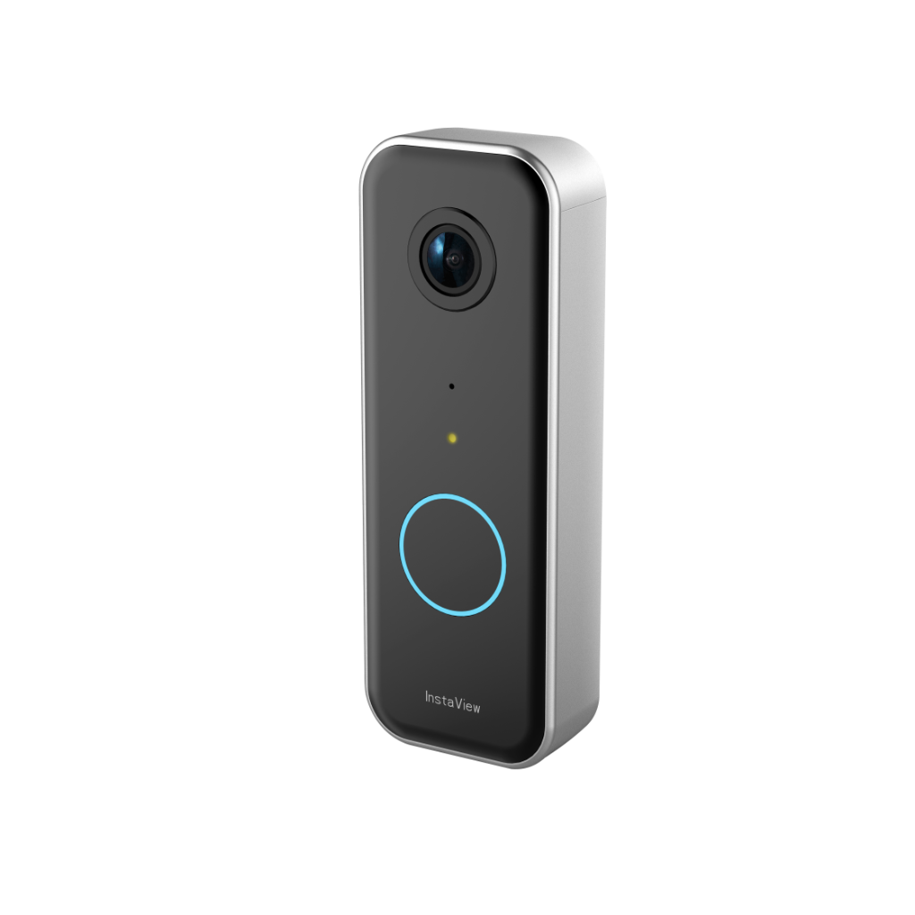 Wired smart video doorbell camera wi-fi with motion detector, AI, security camera doorbell, doorbell security camera