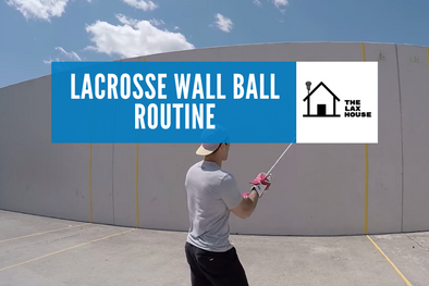 Daily Lacrosse Wall Ball Routine to Become a Expert Lacrosse Ball Handler