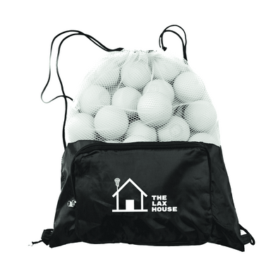 25-Pack Lacrosse Balls with Ball Bag - Lax House