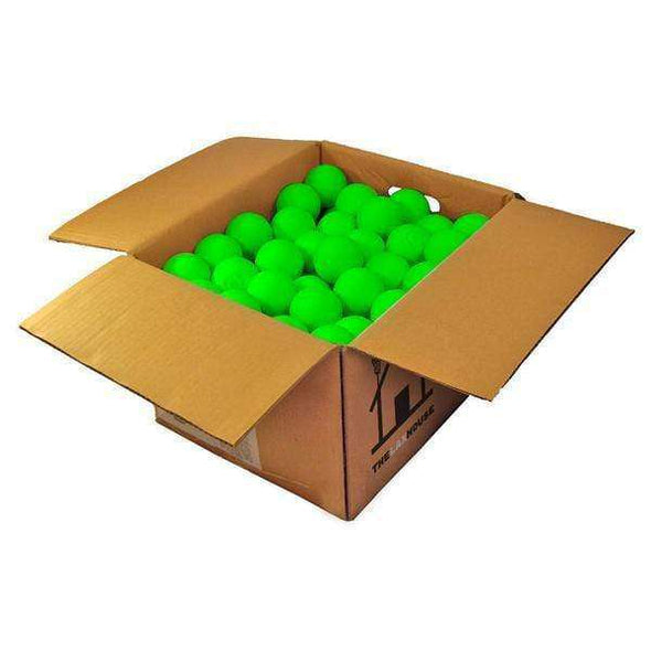 Lacrosse Ball Case - 120 Green Lacrosse Balls - The Lax House Lacrosse Balls