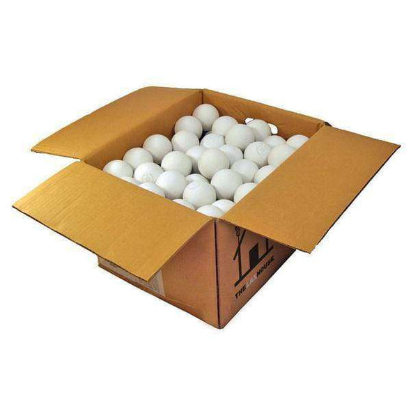 White Practice Lacrosse Ball Case - Lax House