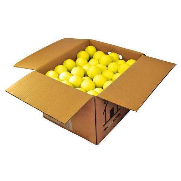 Yellow Practice Lacrosse Ball Case - Lax House