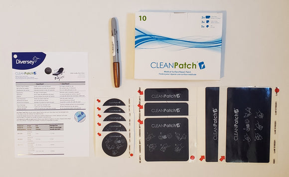 CleanPatch Mix Box SKU 18003 5 small, 3 medium and 2 large