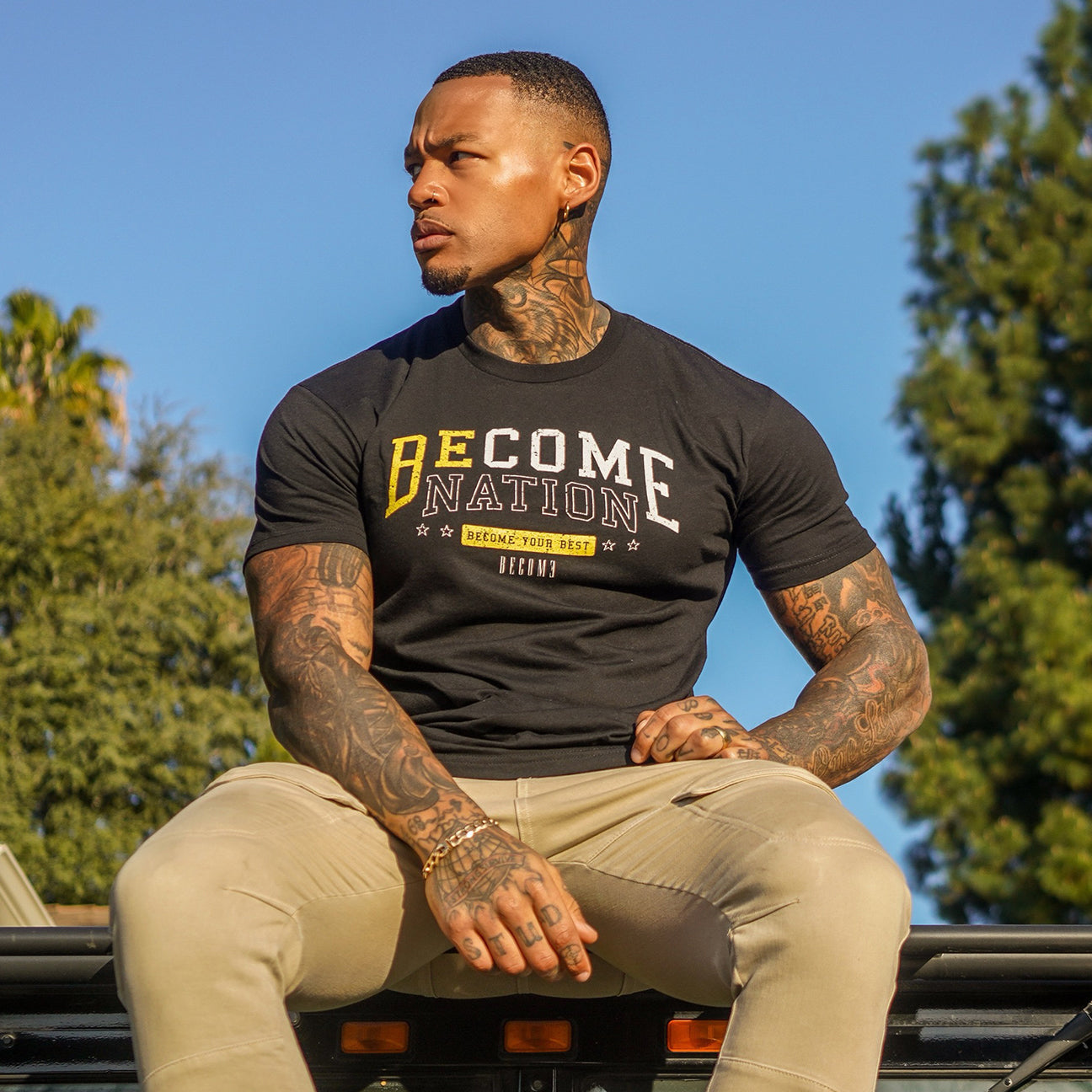 Become Nation Logo T-Shirt