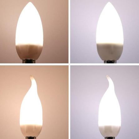 Ampoule Flamme - blanc chaud / blanc froid