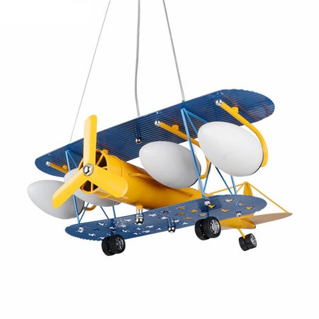 Lampe d'enfants suspension avion