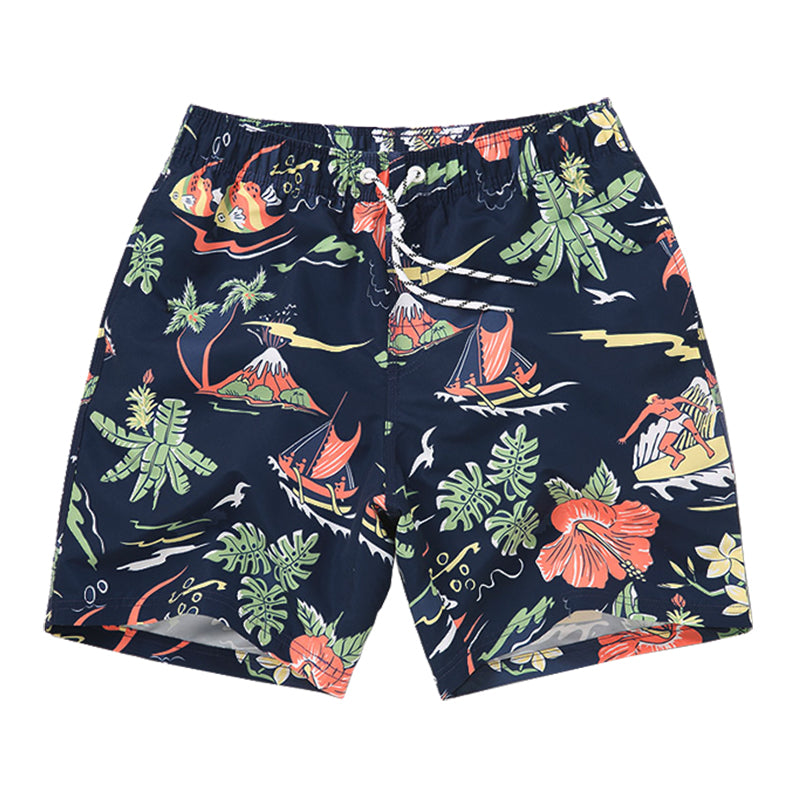 Summer Tides Relaxed Shorts