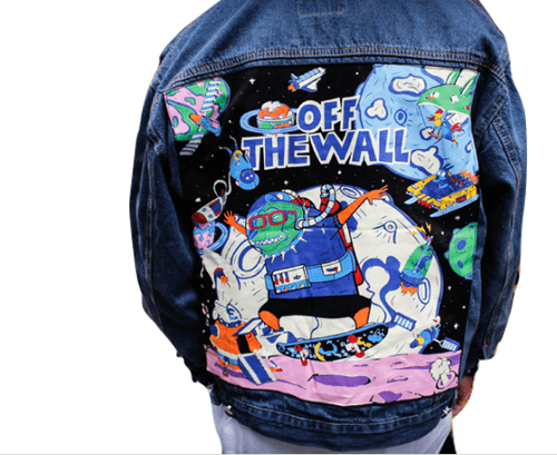 OFF THE WALL Vintage Denim Jacket - COCA