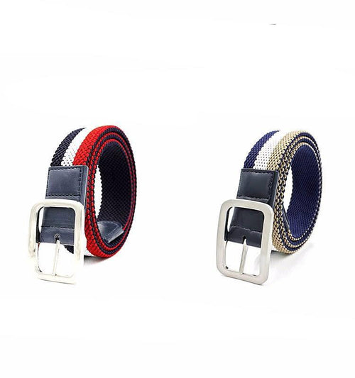Mixed Color Canvas Belt - COCA