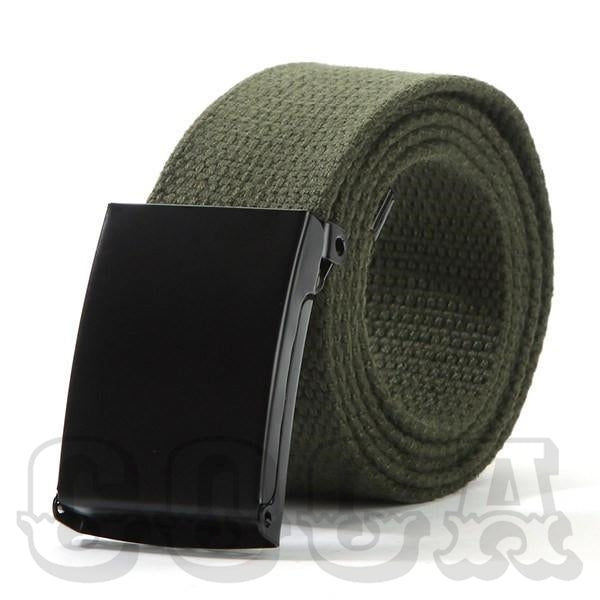 Plain Automatic Canvas Belt - COCA