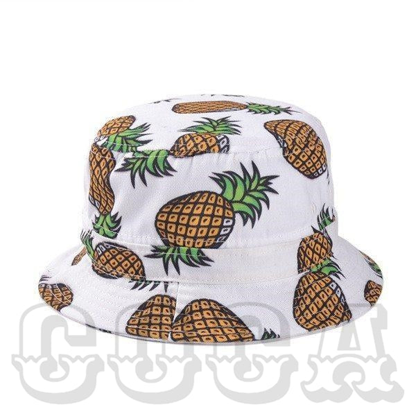 Pineapple Bucket Hat - COCA