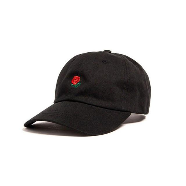 Red Rose Dad Hat - COCA