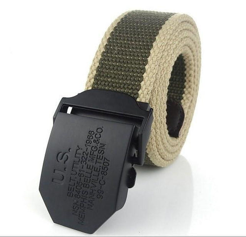 U.S Army Automatic Canvas Belt - COCA