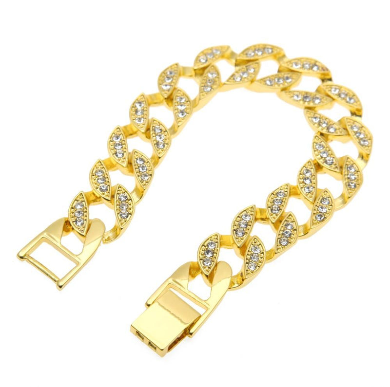 Iced Out Cuban Bracelet - COCA