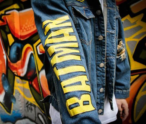BATMAN Vintage Denim Jacket - COCA