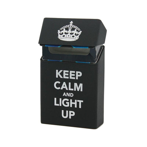 Keep Calm & Light Up Cigarette Case - COCA