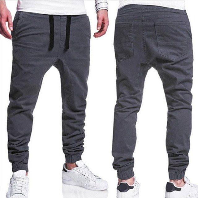 Loose Fit Chino Joggers - COCA