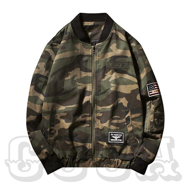 US Army Waterproof Camo Jacket - COCA