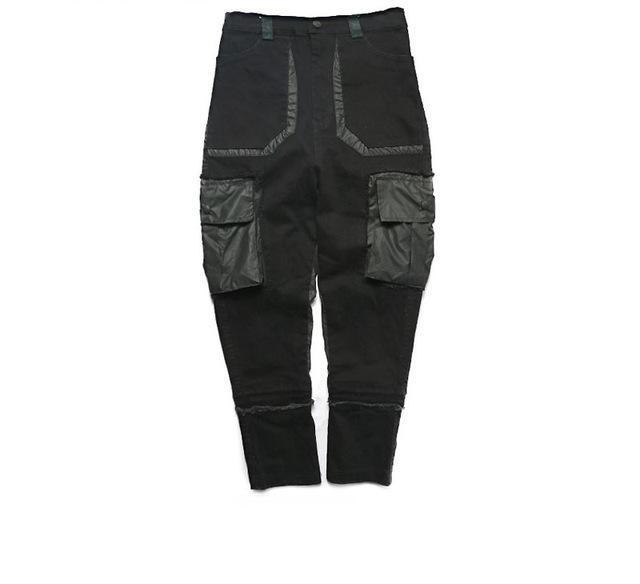 Ripped Cargo Joggers - COCA