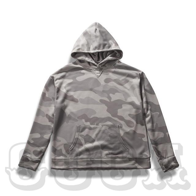 Bleached Camo Hoodie - COCA