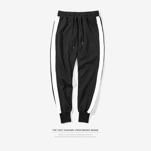 1-Lined Casual Sweatpants - COCA