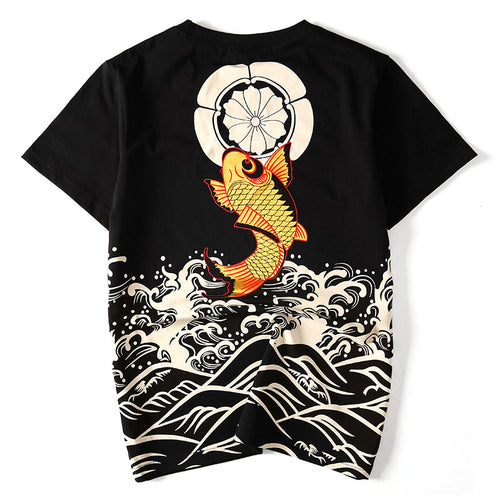 GOLDEN KOI  T-Shirt - COCA