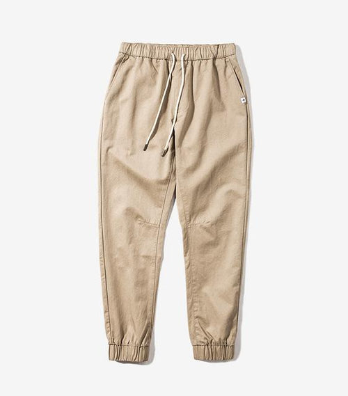 ANKLE-Tied Joggers - COCA