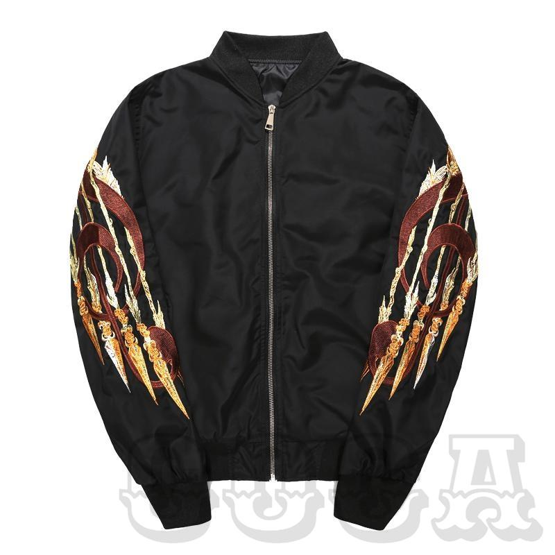 Golden Angel S2 Bomber Jacket - COCA
