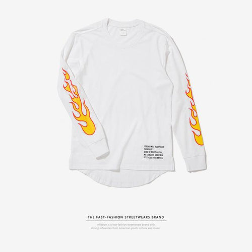 FLAMER Long Sleeve T-Shirt - COCA
