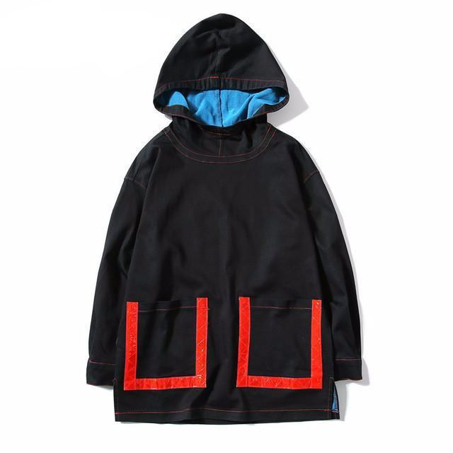 Pullover Denim Windbreaker - COCA