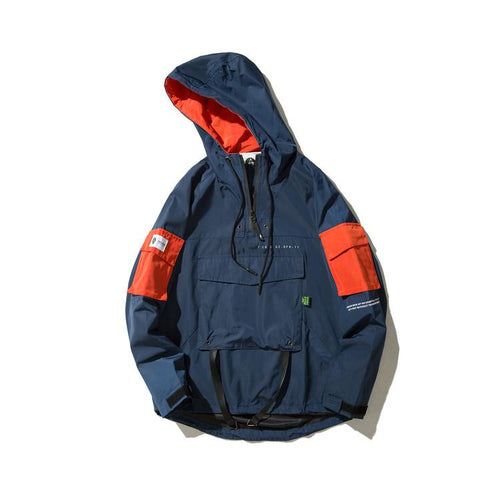 DECODED Front Pocket Windbreaker - COCA