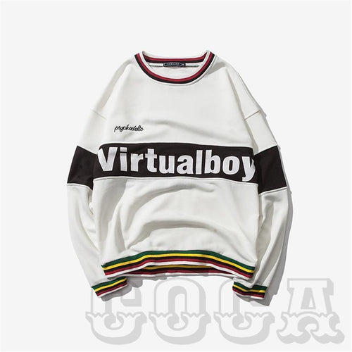 Limited Edition VirtualBoy S2 Sweater In Snow White - COCA