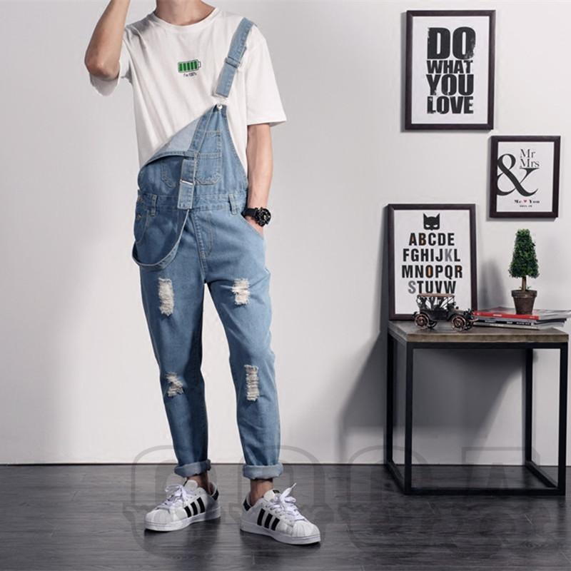 Light Blue Denim Overalls - COCA