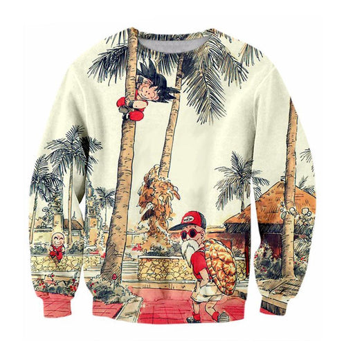 Roshi Vacation Sweatshirt - COCA