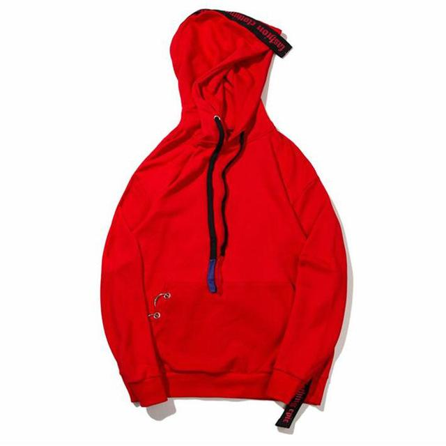 Decorated Strapped Hoodie - COCA