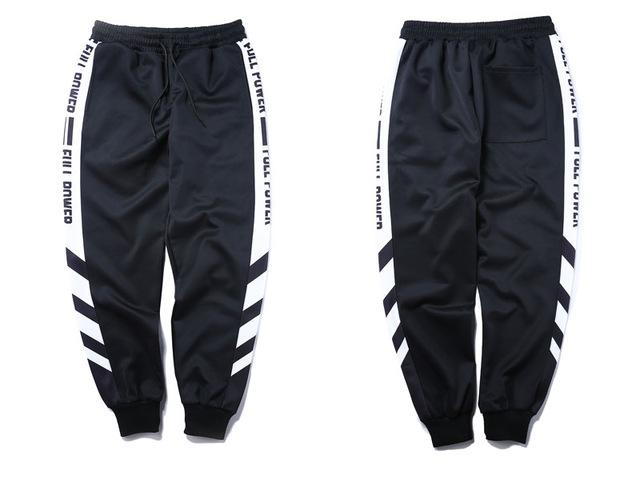 FULLPOWER Striped Joggers - COCA