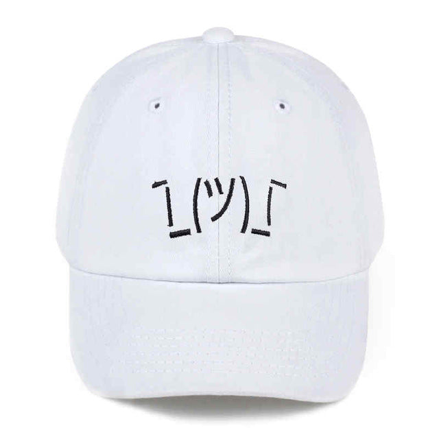 SHRUGFACE Dad Hat
