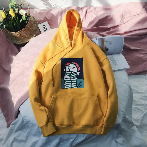 EVENING CREEPS Hoodie - COCA