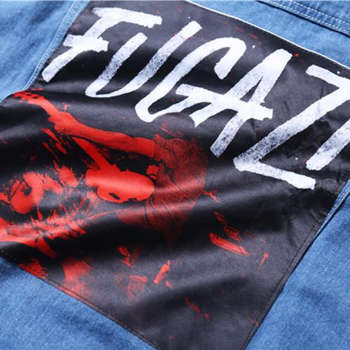 FUGAZI Denim Jacket