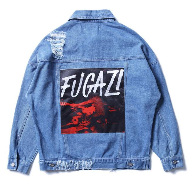 FUGAZI Denim Jacket - COCA