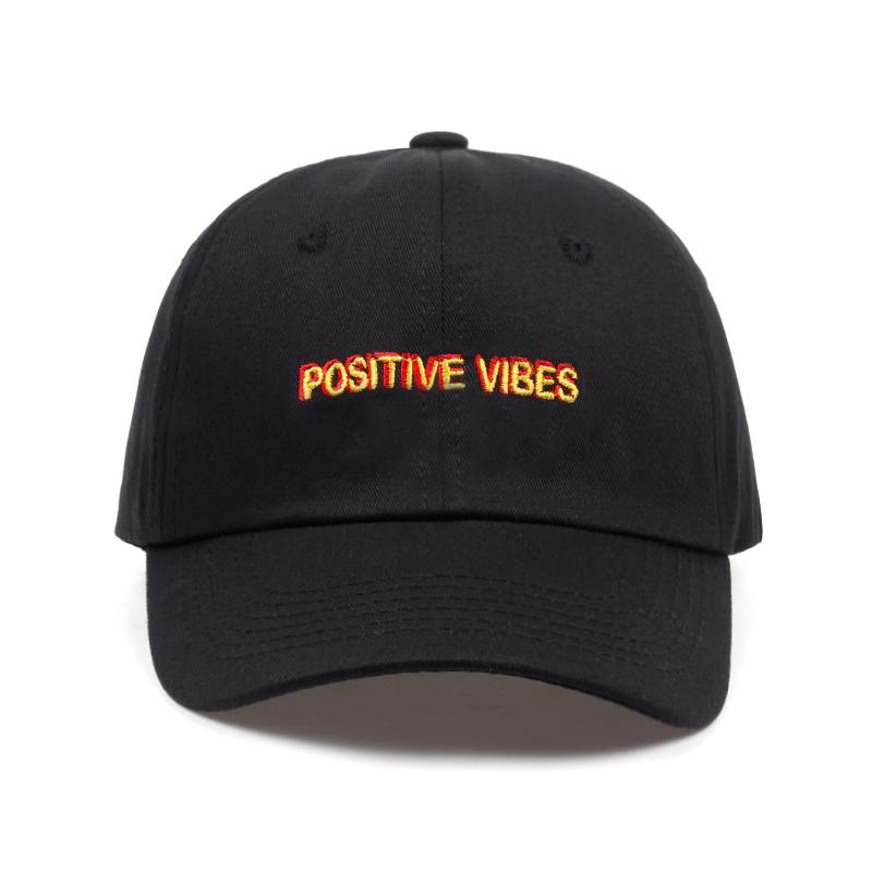 Positive Vibes Dad Hat - COCA