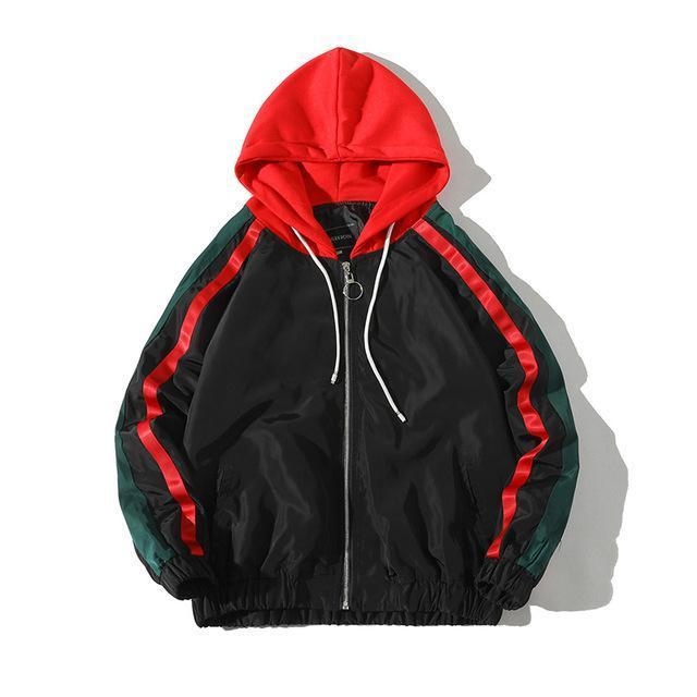 RECON RETRO Hooded Windbreaker - COCA