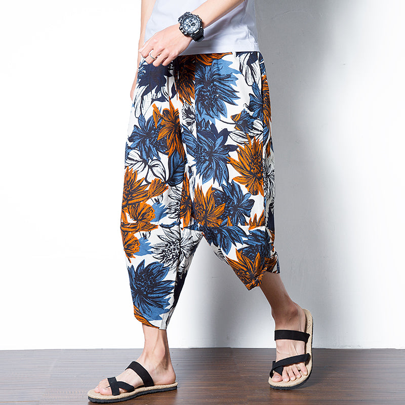 Lotus Forest Harem Pants - COCA