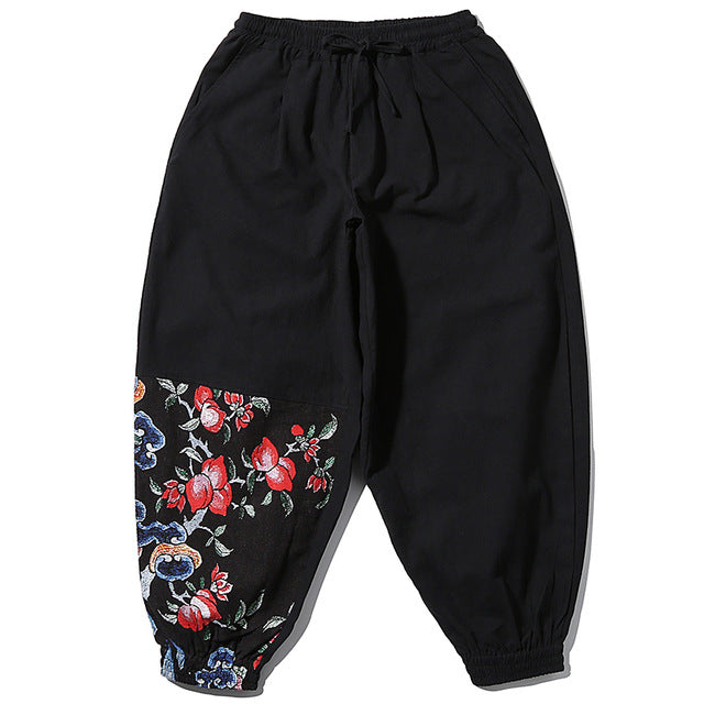 Summer Garden Harem Pants